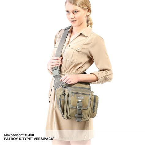 Sling Bag Ravre Fatboy Grey fatboy s type versipack tactical gear concealed