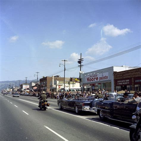 Oakland California Records Kn C20636 President F Kennedy S Motorcade In Oakland California F