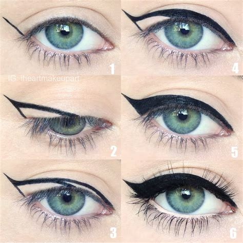 detailed tutorial cat eyeliner video cat eye tutorial by ashleigh a preen me