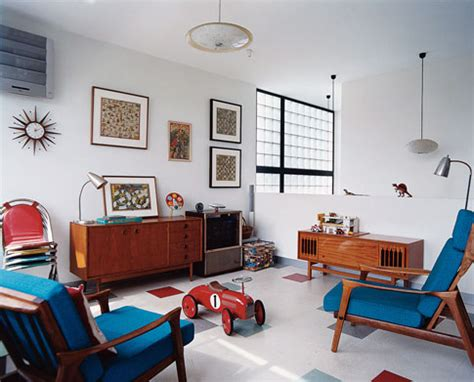 Retro Home Interiors by 1950s Interiors
