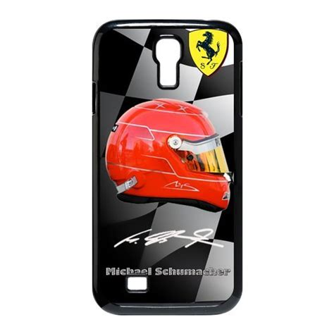 Casing Cassing Samsung Galaxy S4 I9500 Fullset custom german f1 legend rider michael schumacher black plastic for samsung galaxy s4 i9500
