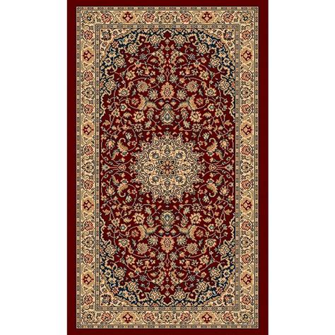 rugs with red accents balta us classical manor red 2 ft x 3 ft 5 in accent
