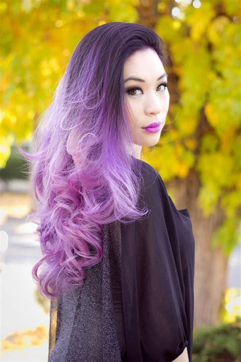 lavender color hair ombre lavender hair hair colors ideas