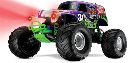traxxas grave digger rc truck traxxas 30th anniversary grave digger race replica rc