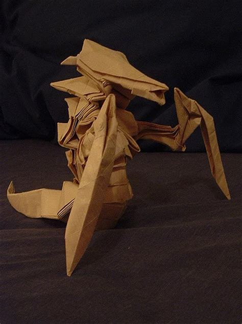 Starcraft Origami - blizzard a gallery on flickr