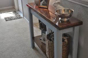 diy entry table coulter