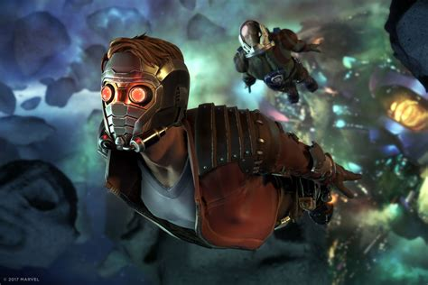 guardians   galaxy game          video game  verge