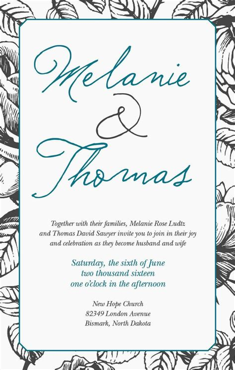get your wedding invitations printed get your own sle of this wedding invitation
