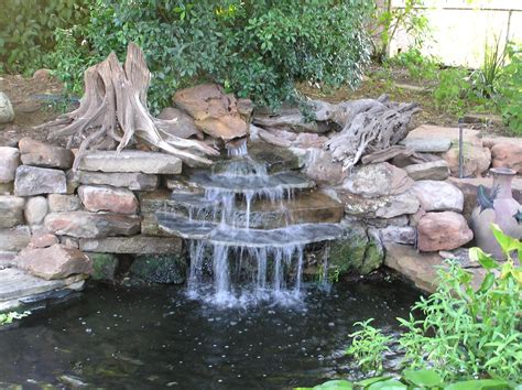 Backyard Waterfall Ideas Decors 187 Archive 187 Waterfall Enhances The Of Garden