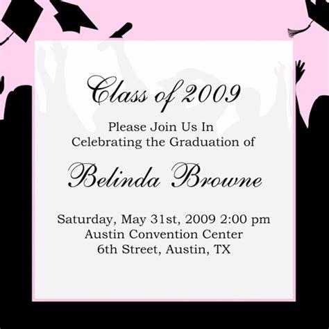 graduation dinner invitation wording 8th grade graduation invitations wording