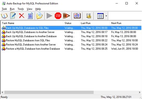 mysql on xp tutorial automated mysql database backup service on windows