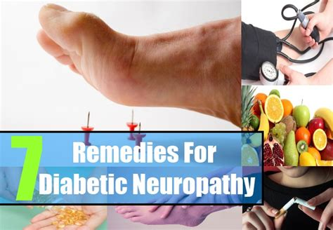 7 home remedies for diabetic neuropathy how to treat