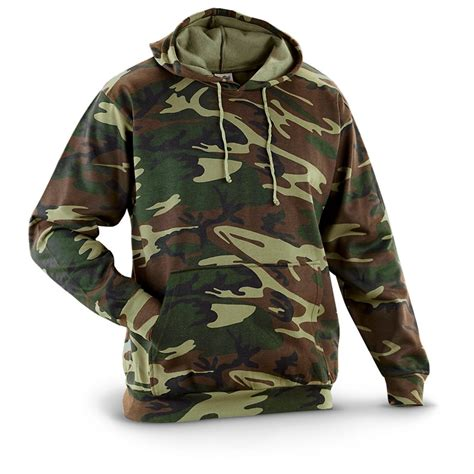 Camouflage Hooded Sweatshirt camo hooded sweatshirt 236432 sweatshirts hoodies at