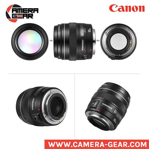 Yongnuo 100mm F2 For Canon by Yongnuo 100mm F2 Yongnuo Prime Lens For Canon Dslr