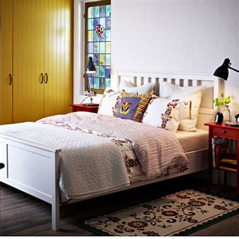 ikea hemnes bed frame white wood bed frames