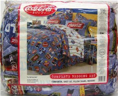 coca cola bedding coca cola complete bedding set king ice cold coca cola ebay