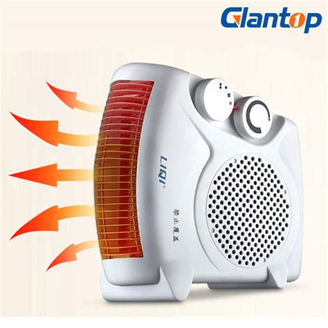 room air blower glantop electric air heater warm air blower mini room fan heater electric warmer for office home