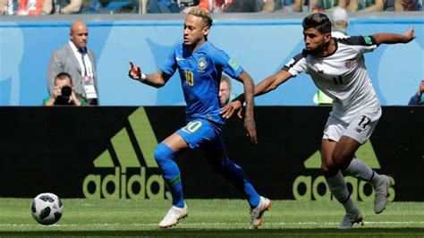 fifa world cup 2018 coutinho neymar score as brazil beat