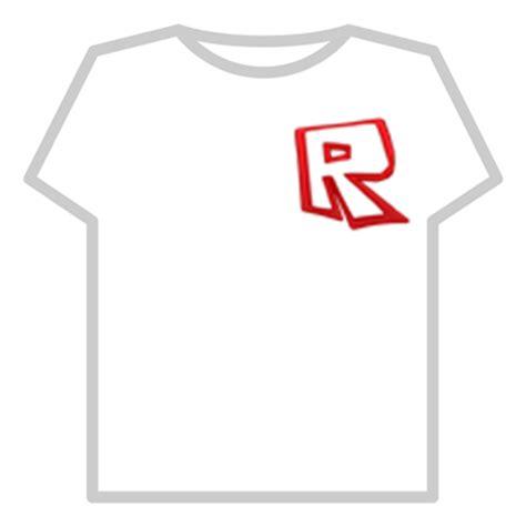R Tshirt roblox quot r quot t shirt roblox