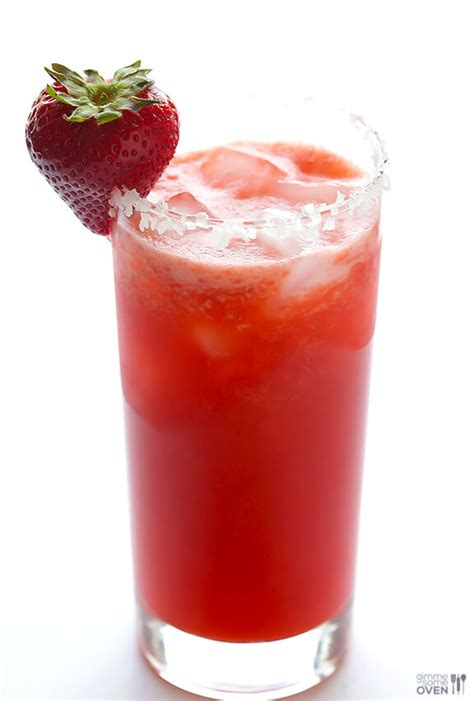 strawberry margarita fresh strawberry margarita gimme some oven