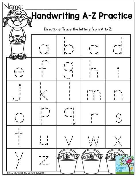 Preschool Writing Worksheets by 25 Best Ideas About Kindergarten Prep On
