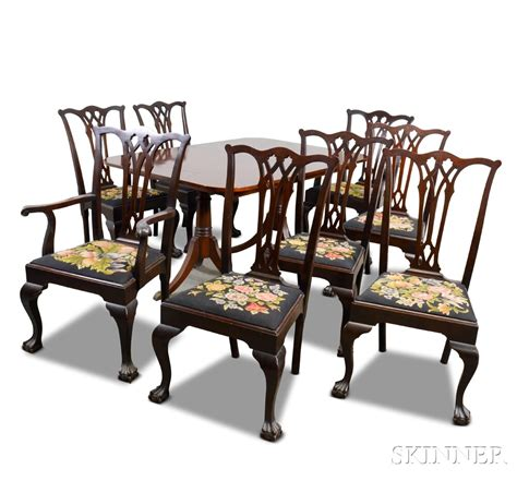 chippendale dining room chairs paine furniture chippendale style mahogany dining room
