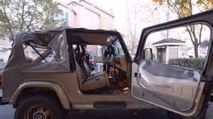 1989 jeep wrangler yj soft top up hd