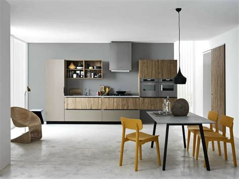 nama arredamenti linear fitted kitchen ariel composition 3 by cesar
