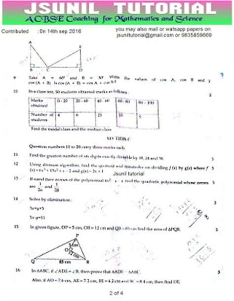 online tutorial cbse cbse 2016 2017 class10 sa1 question papers new cbse adda