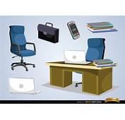 Elementos De Oficina Para Cosas Negocios  Descargar