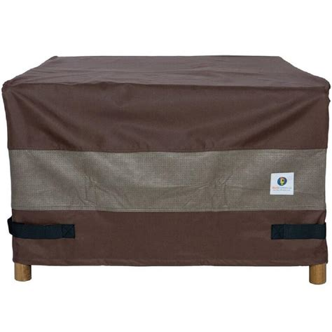 square firepit cover duck covers ultimate 50 in square pit cover ufps5050