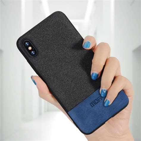 Iphone X Cover Mofi mofi for iphone x cover silicone edge shockproof