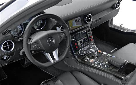 mercedes benz sls amg  safety car interior