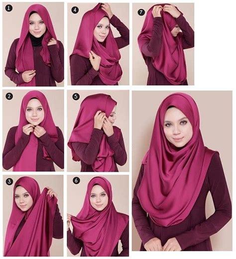 tutorial hijab terbaru 20 tutorial hijab pashmina terbaru the way you wear your