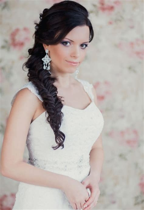 Wedding Hairstyles To The Side Braid by Hairstyles With Side Braids For Wedding Talk Hairstyles