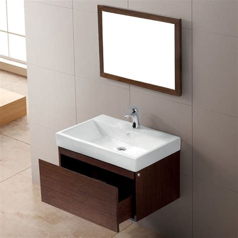 Bathroom Vanity Against Wall Wall Mounted Bathroom Vanities A Smart Choice For A Small Bathroom