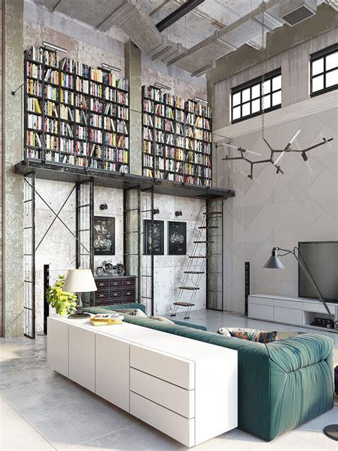 stile arredamento 23 idee per arredare il soggiorno in stile industriale