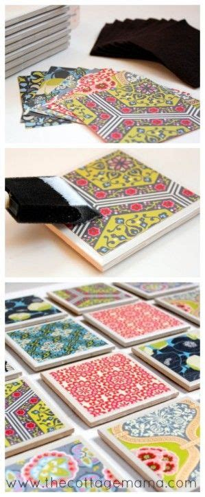 tile craft projects best 25 tile coasters ideas on