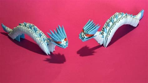 origami 3d dragon tutorial español 17 best images about origami on pinterest origami paper