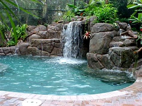 rock swimming pool pond waterfalls waterfall pool with waterfalls ideas for your outdoor space home