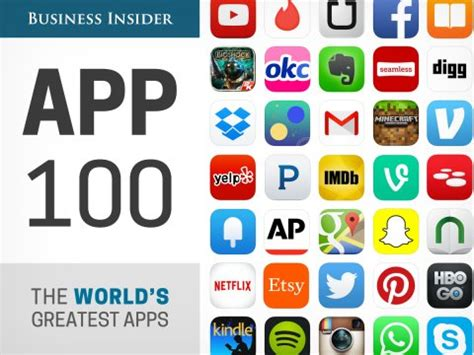 best apps 100 best apps for iphone and android business insider