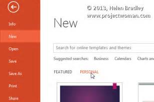 powerpoint 2013 templates what to do when your powerpoint 2013 templates go missing
