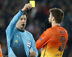 barcelona referee barcelona complain to uefa over referee wolfgang stark in