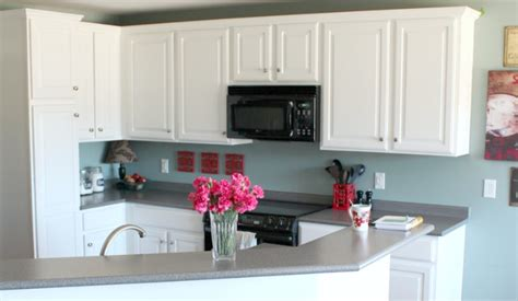 Painted Kitchen Cabinets With Benjamin Moore Simply White Best White Paint For Kitchen Cabinets Benjamin
