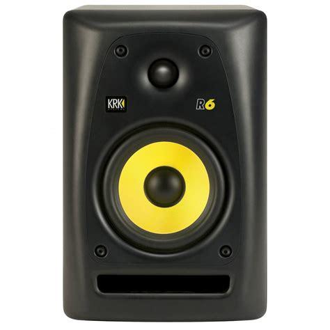 krk r6 passive studio monitor speaker single studio monitor speakers from inta audio uk