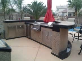 modular outdoor kitchen islands outdoor modular outdoor kitchens low budget setting