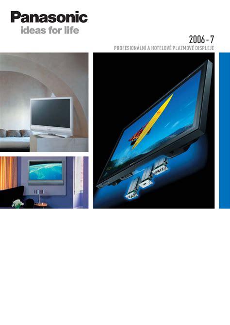 Tv Panasonic Viera Th 32c304g free pdf for panasonic viera th 50phd8 tv manual