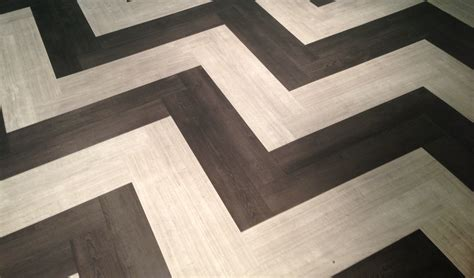 chevron floor tile floor360 chic chevron
