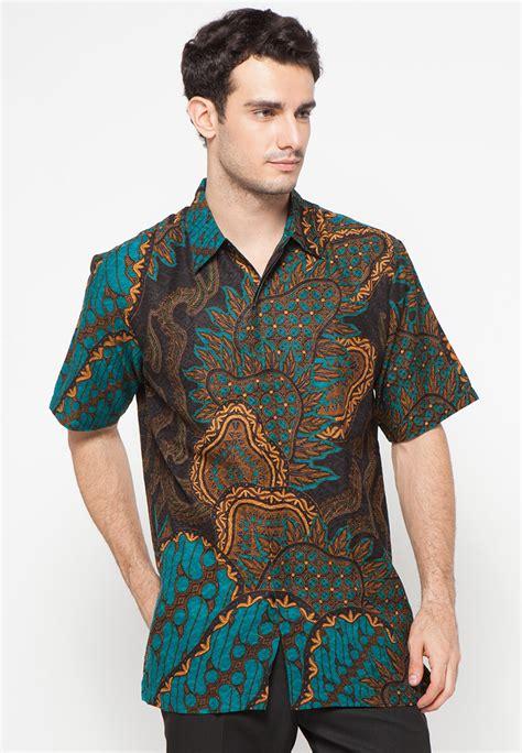 Batik Danar Hadi Kemlayan Serengan kemeja batik motif sekar mayang hijau by danar hadi me3151 klikplaza shop