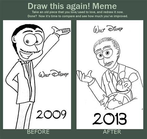 How To Draw Meme - draw this again meme walt disney by jimenopolix on deviantart